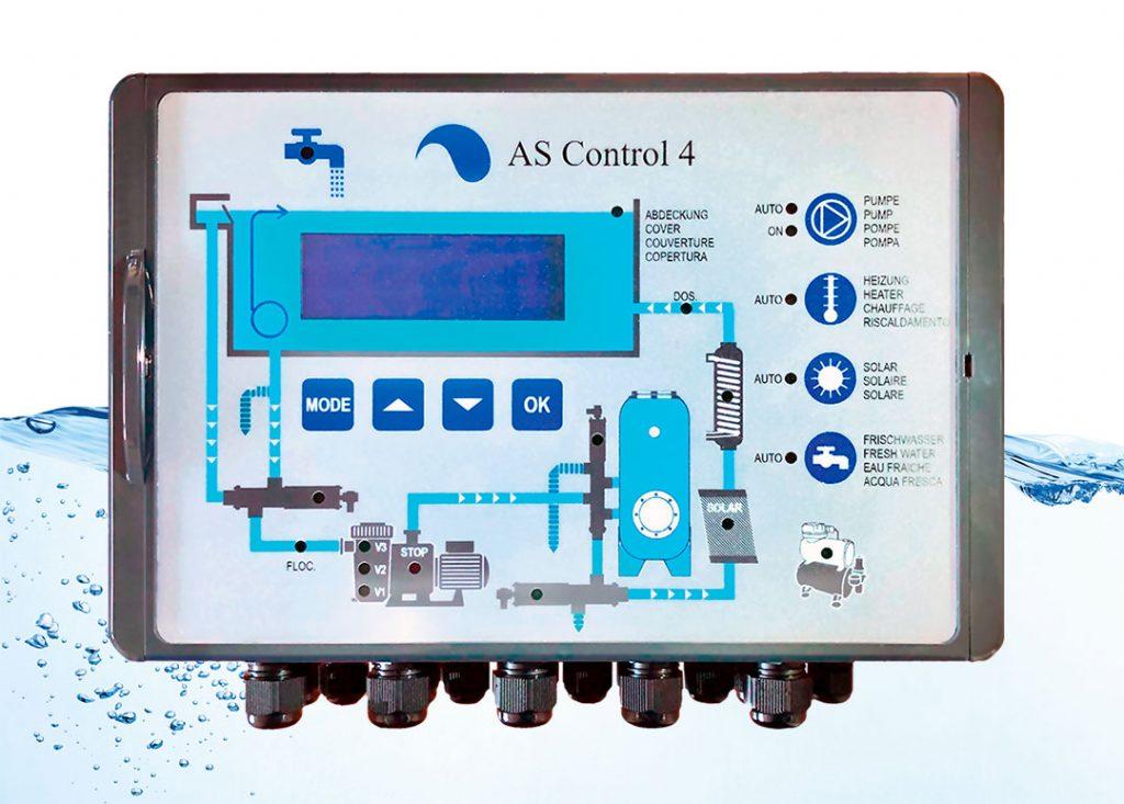 AS Control 4 - новая система управления бассейном