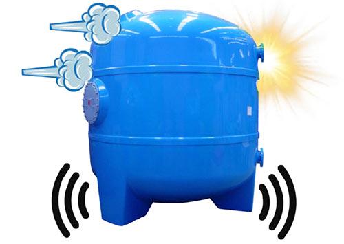 Ударное воздействие температуры и давления в фильтрах для бассейна Calplas