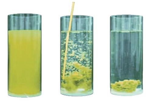 Dryden Aqua APF является высокоэффективным коагулянтом и флокулянтом. Под его воздействием взвешенные твердые вещества собираются в большие хлопья, которые можно отфильтровать.