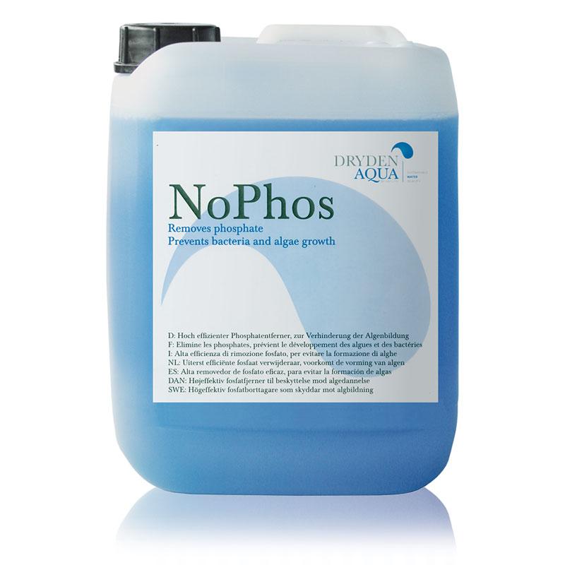 NoPhos - средство для устранения фосфатов в воде. Для бассейнов и прудов.