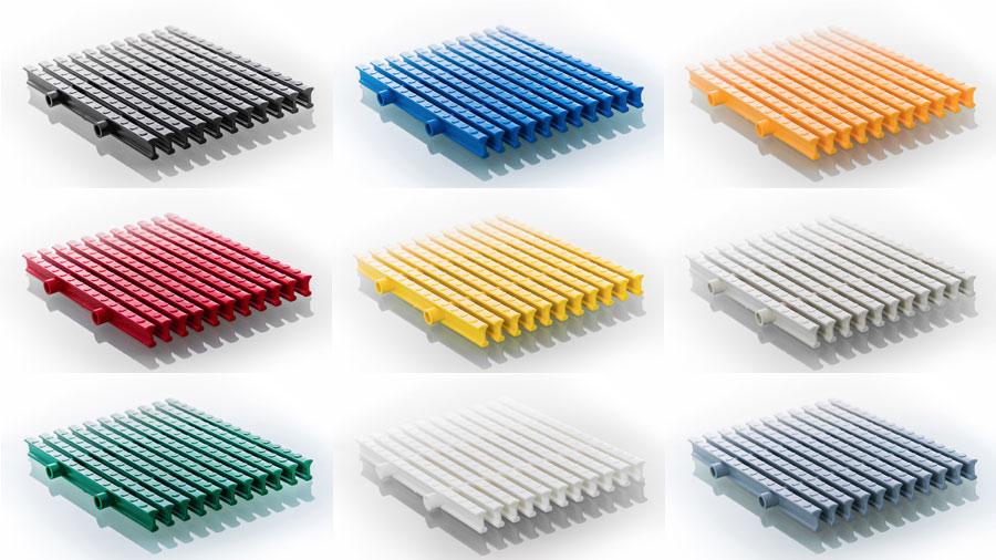 переливная решетка Zeller выбор цвета